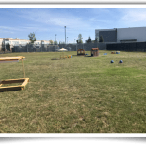 Outdoor playground for preschool kids Calgary