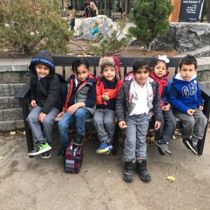 Kids in a group picture
